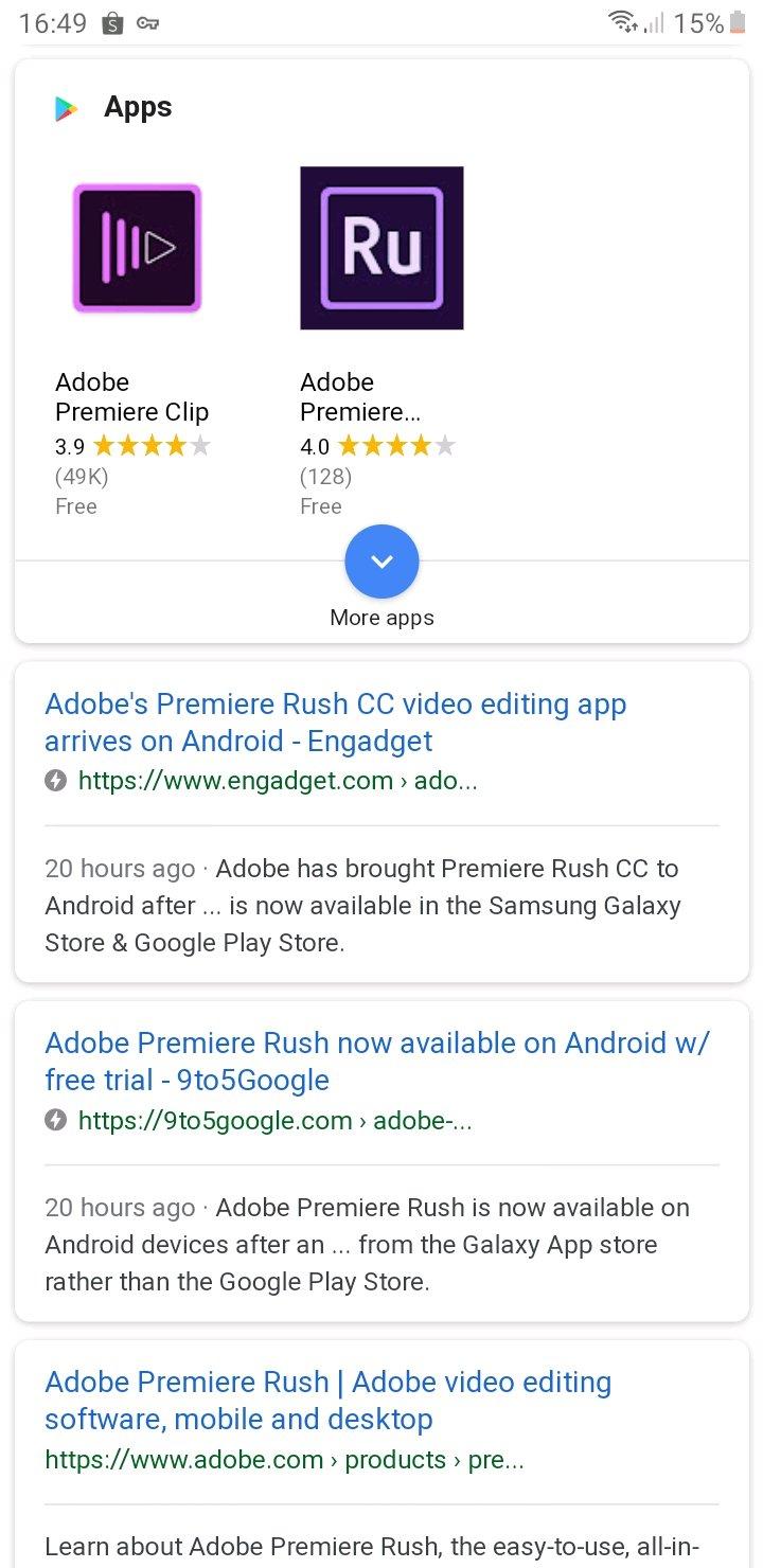Adobe Premiere Rush Akhirnya Tersedia di Android - Samsung