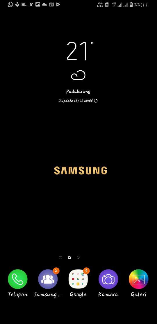 Terpecahkan Wallpaper Halaman 2 Samsung Members