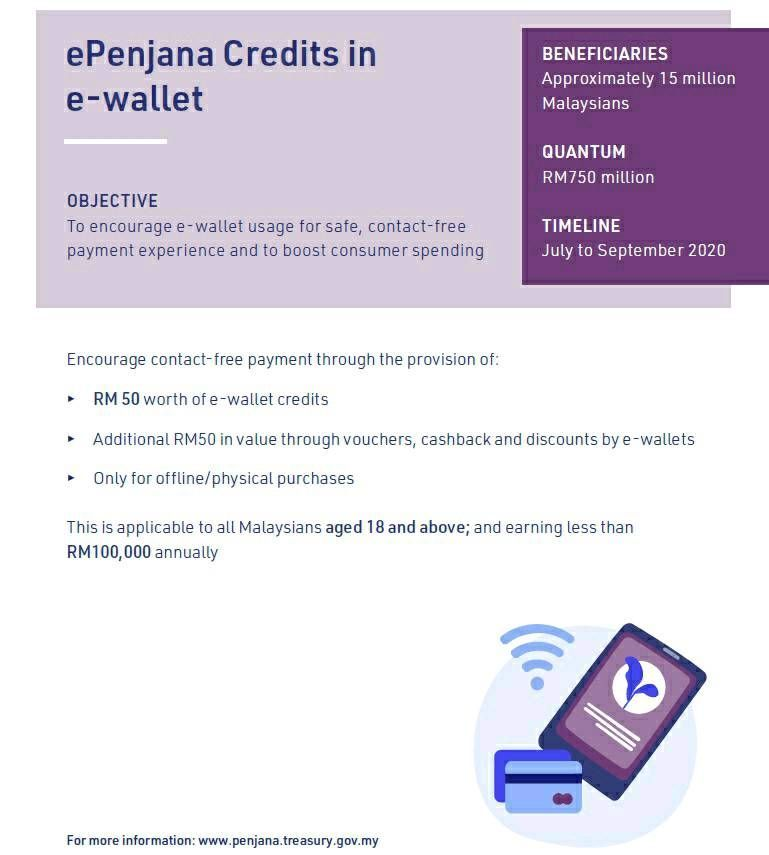 Economic Recovery Plan Free Rm50 Ewallet Credit F Samsung Members