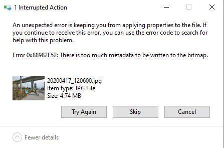 0x88982F52 Error Message.JPG