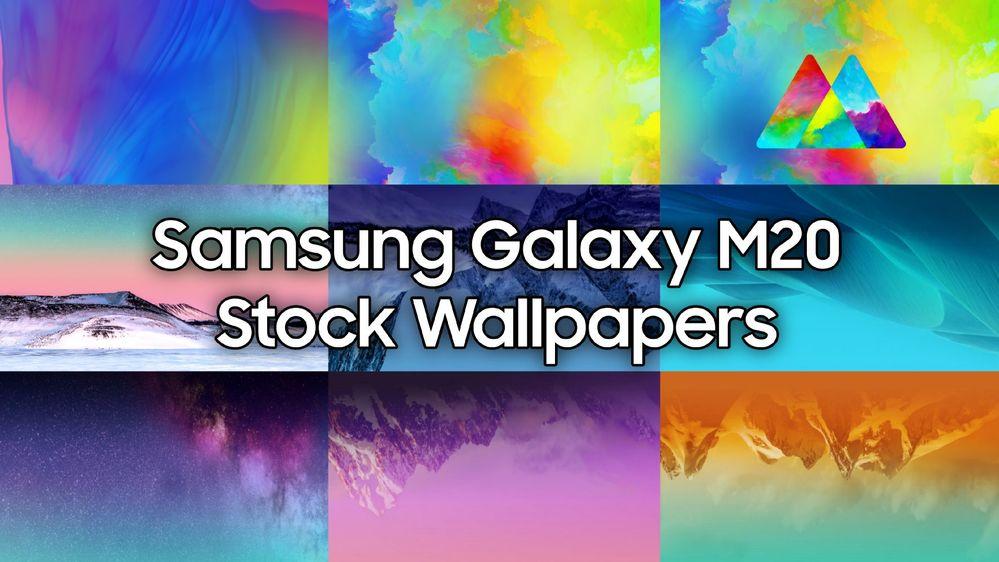Stock Wallpapers Samsung Galaxy M20 Samsung Members