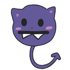 보라색고양이