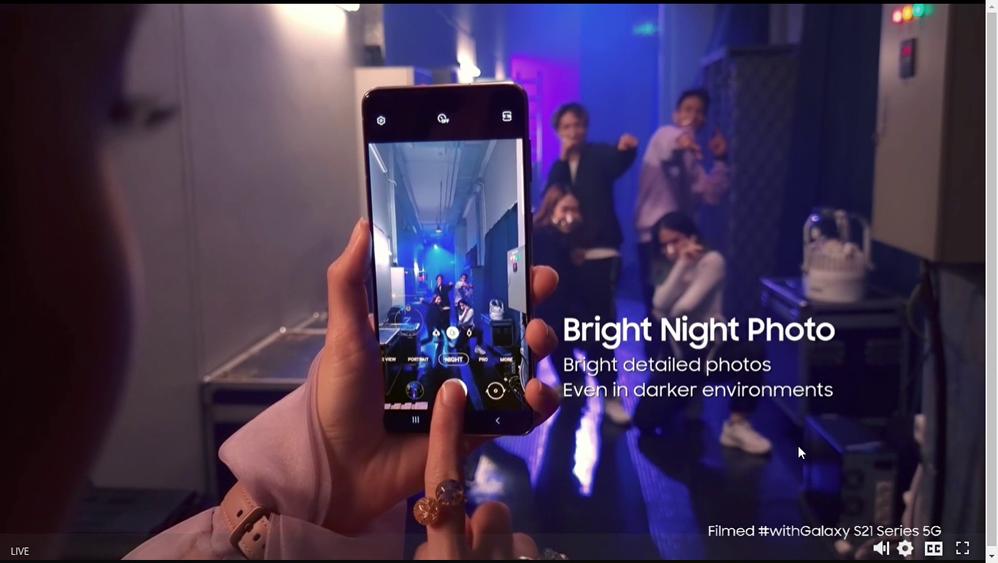 Bright Night Photo