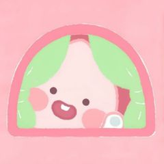 핑크복숭아