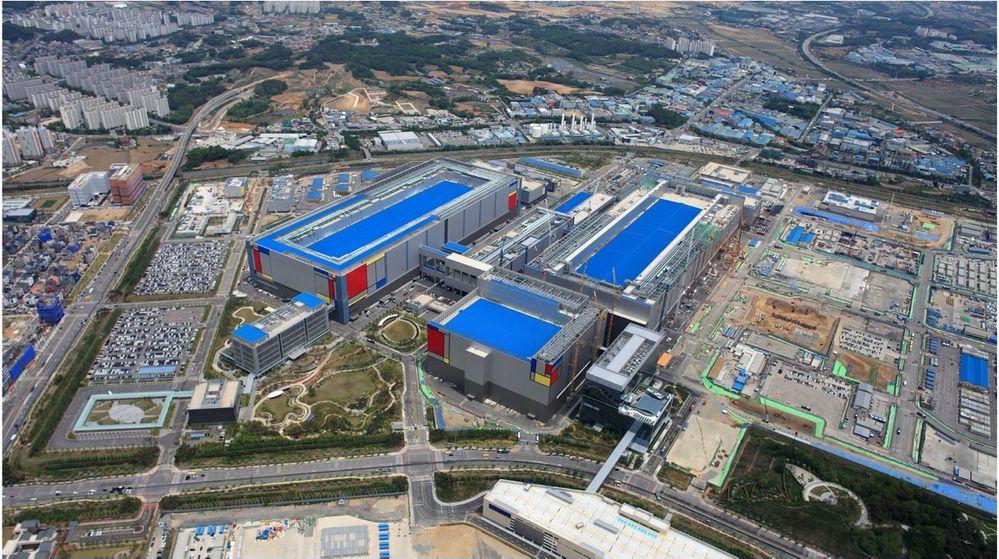 Pabrik Semikonduktor Samsung