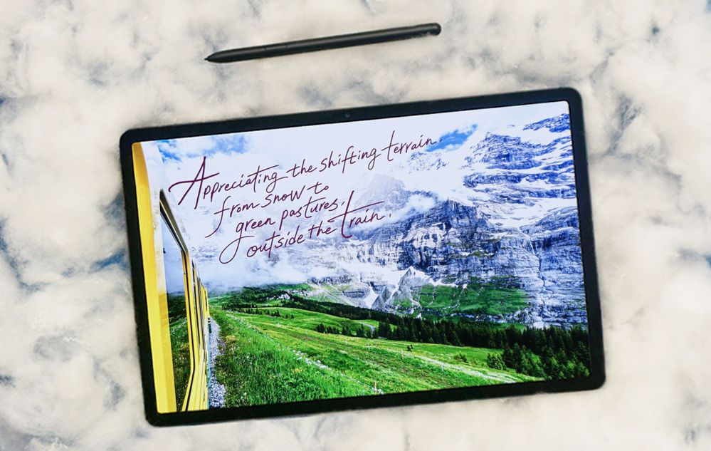 03_GalaxyTabS7plus_calligraphy_20180612_Switzerland_Interlaken_YoungjinJoo_lifestyle.jpg
