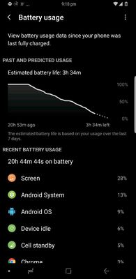 S8 plus battery drain idle mode - Samsung Global US