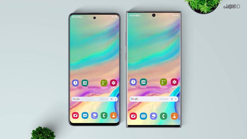 Galaxy A51 vs Galaxy Note 10+