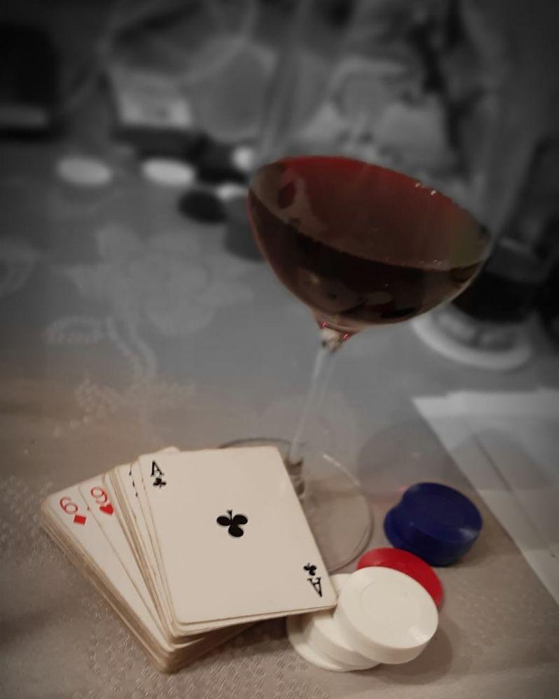 un AS de Vino