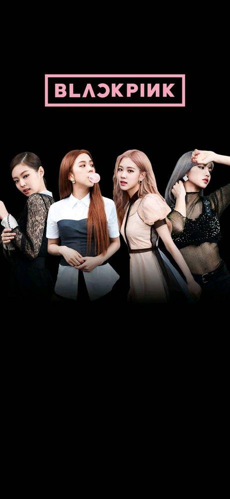 Wallpaper Black Pink Samsung Members